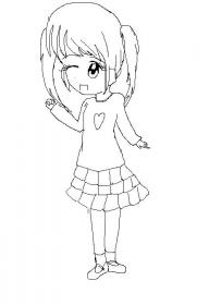 可爱少女的心灵