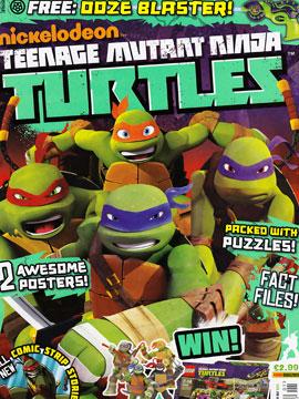 忍者神龟2012 UK杂志配套漫画