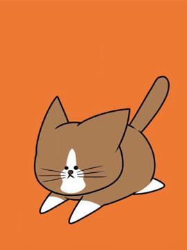 鸿池刚与猫咪邦太 呜喵——